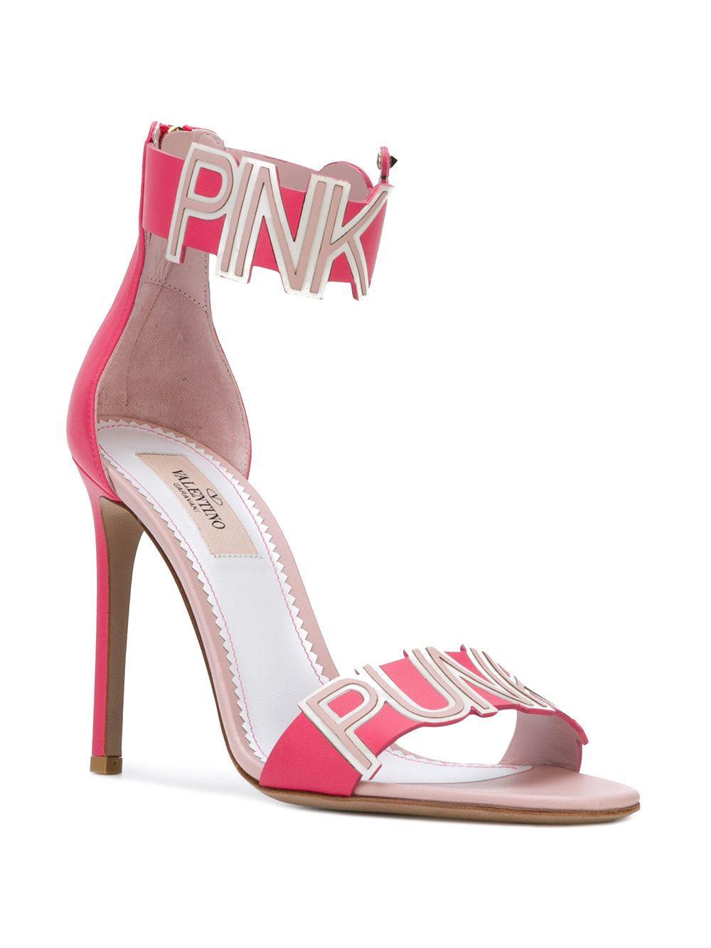 9b89a582c Valentino Valentino Garavani Pink Is Punk Sandals in 2019 ...