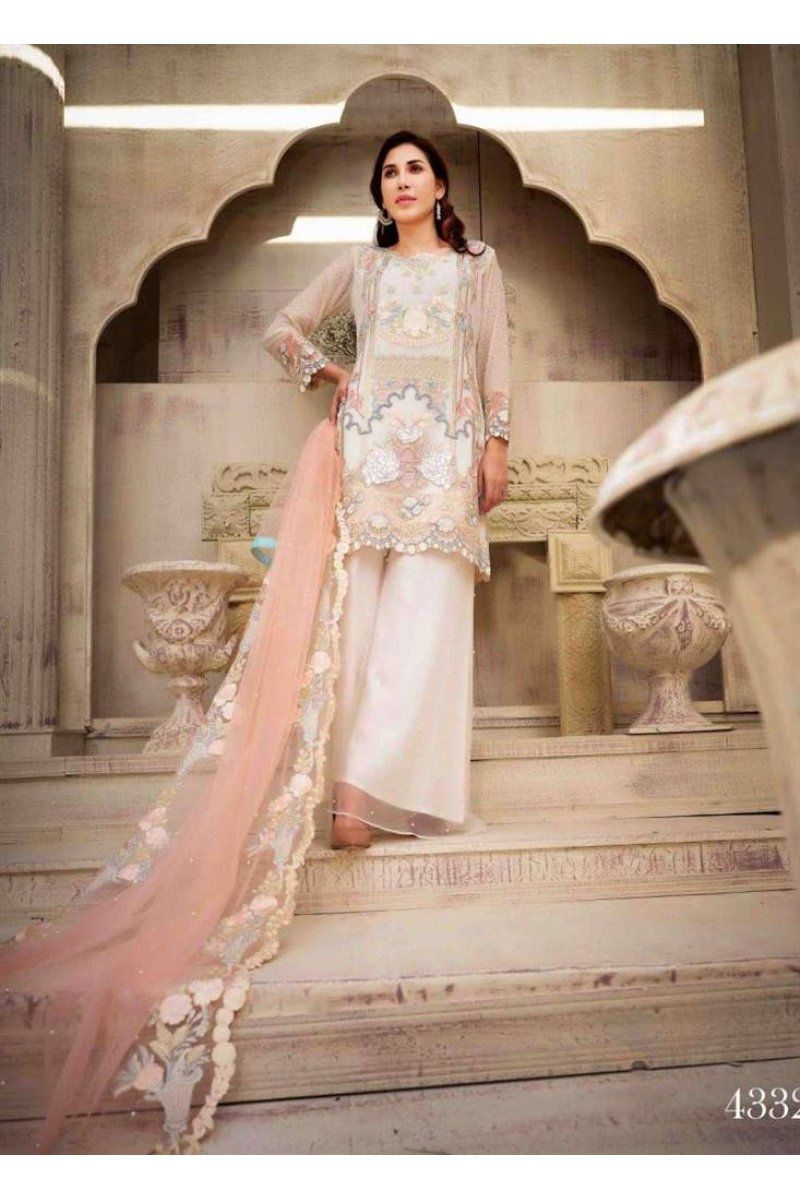 fa529a9fb1 Upper Crust Premium Chiffon Collection By Tawakkal Fabrics 4332  https://www.meemfashions