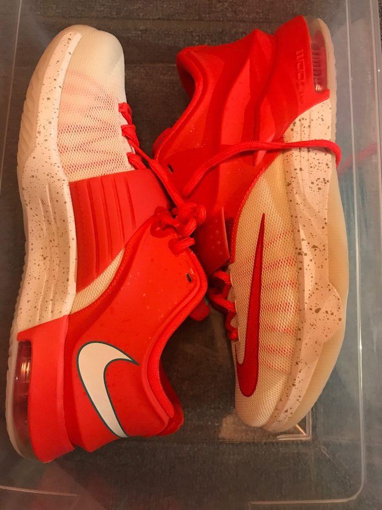 buy online fdade 5ad31 Nike Air ZOOM KD VII 7 Sz 10.5 egg nog christmas rare durant ...