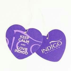 Profumatori per automobile KEEP CALM AND LOVE INDIGO #heart #viola #keepcalmandloveindigo #keepcalm #torino #nailartist #indigonailspiemonte #indigonails #gadget