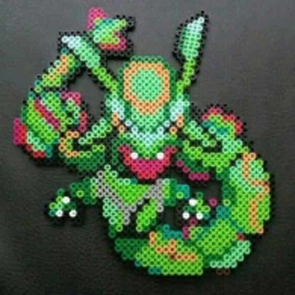 Pokemon Rayquaza Pixel Art Pokemon Rayquaza Pixel Art Pixel Art Pokemon