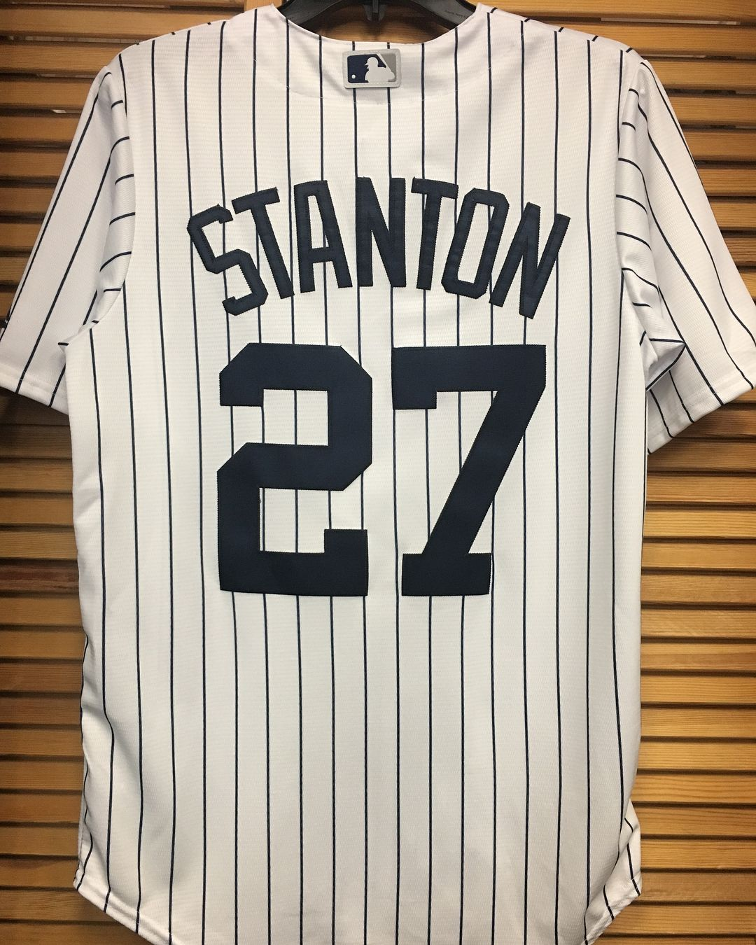 official photos 1dff6 fe3a9 New Majestic MLB New York Yankees Jersey ! Giancarlo Stanton ...