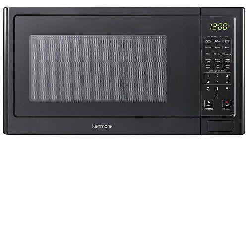 Kenmore 12 Cuft Countertop Microwave Oven 1100 Watts Black 75659