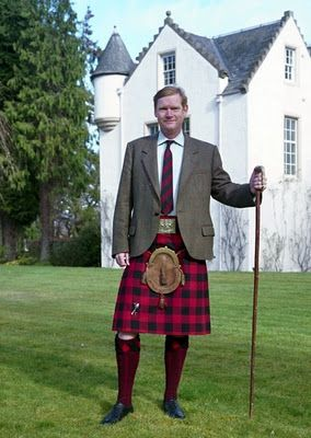 Sir Malcolm MacGregor of MacGregor, Chief of Clan Gregor
