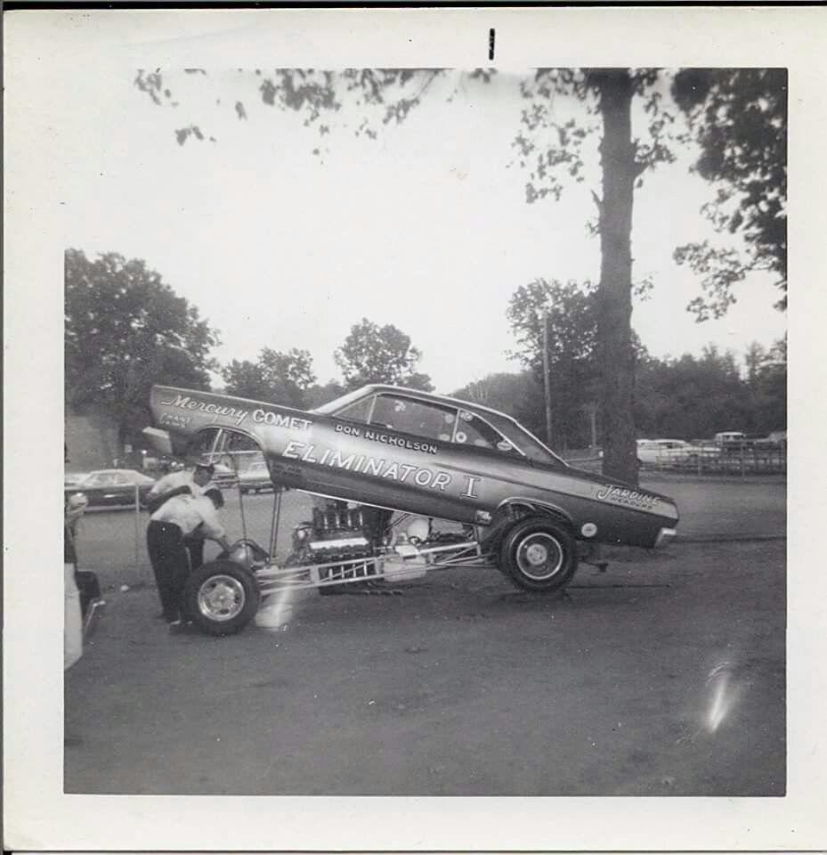 Don Nicholson Eliminator I Mercury Comet 1966 US 131 Dragway