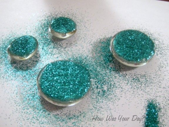 How to Make Glitter Glass Marble Magnets   How Was