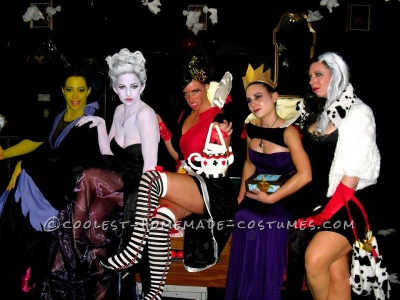 Fantastic Female Disney Villains Group Costume ...This website is the Pinterest of costumes  sc 1 st  Pinterest & Fantastic Female Disney Villains Group Costume | Pinterest | Disney ...
