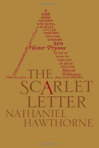 the scarlet letter (word cloud classics) by nathaniel hawthorne