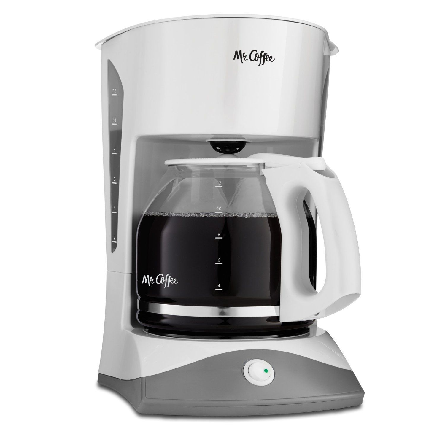 Mr. Coffee SK12 12-Cup Manual Coffeemaker, White *** Check this awesome image : Coffee Maker ...