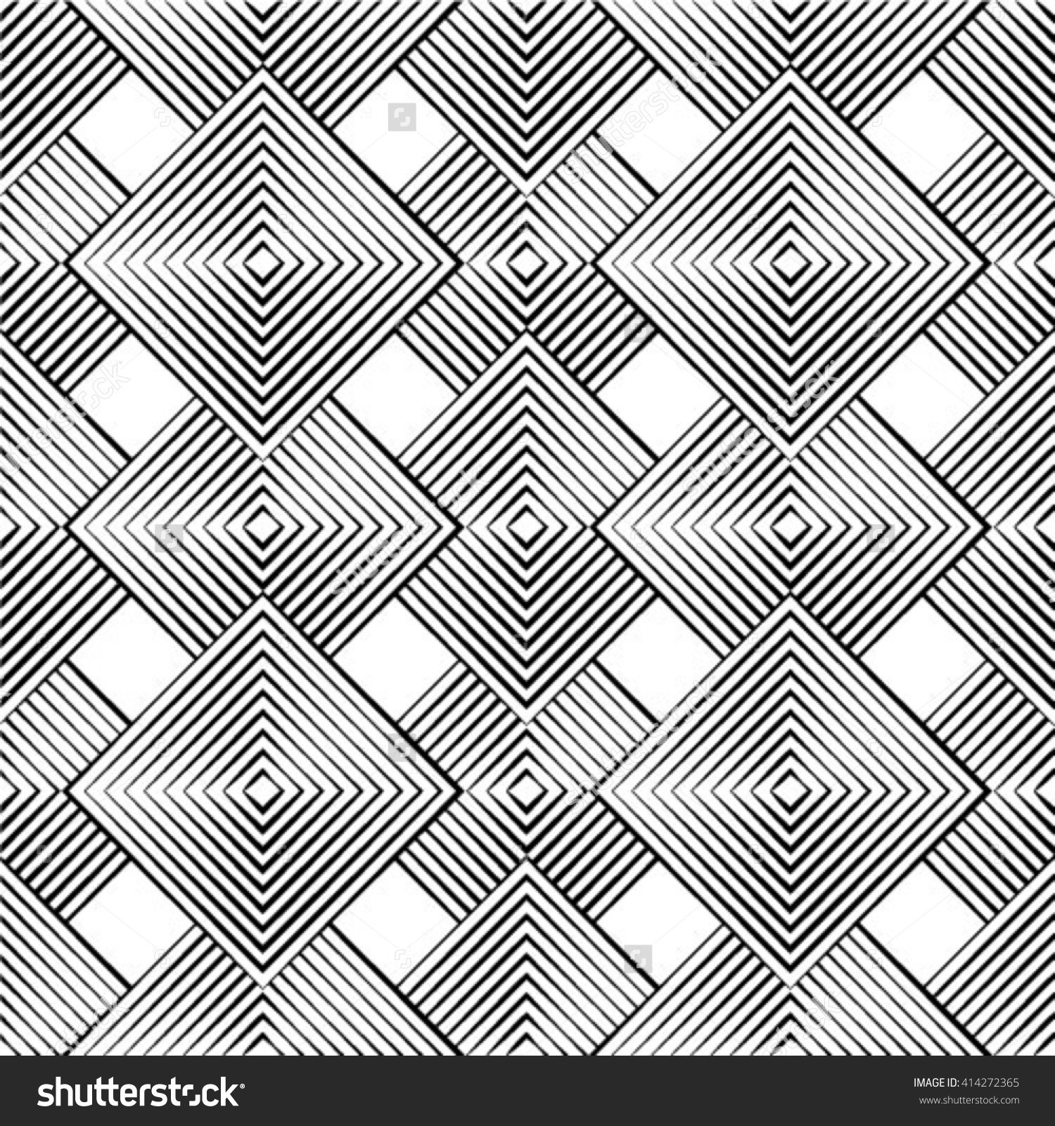 Seamless Geometric Pattern Geometric Simple Print Vector Repeating Texture