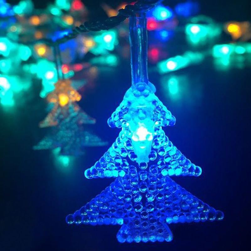 2m 20 LED Christmas Tree String Light Pendant Battery Waterproof