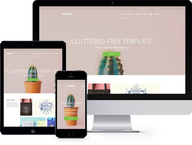 Render Free Html5 Bootstrap Template Free Responsive Html5