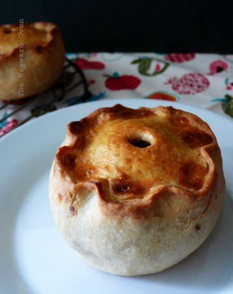 hand-raised pie | Fun pie recipes, British baking show ...