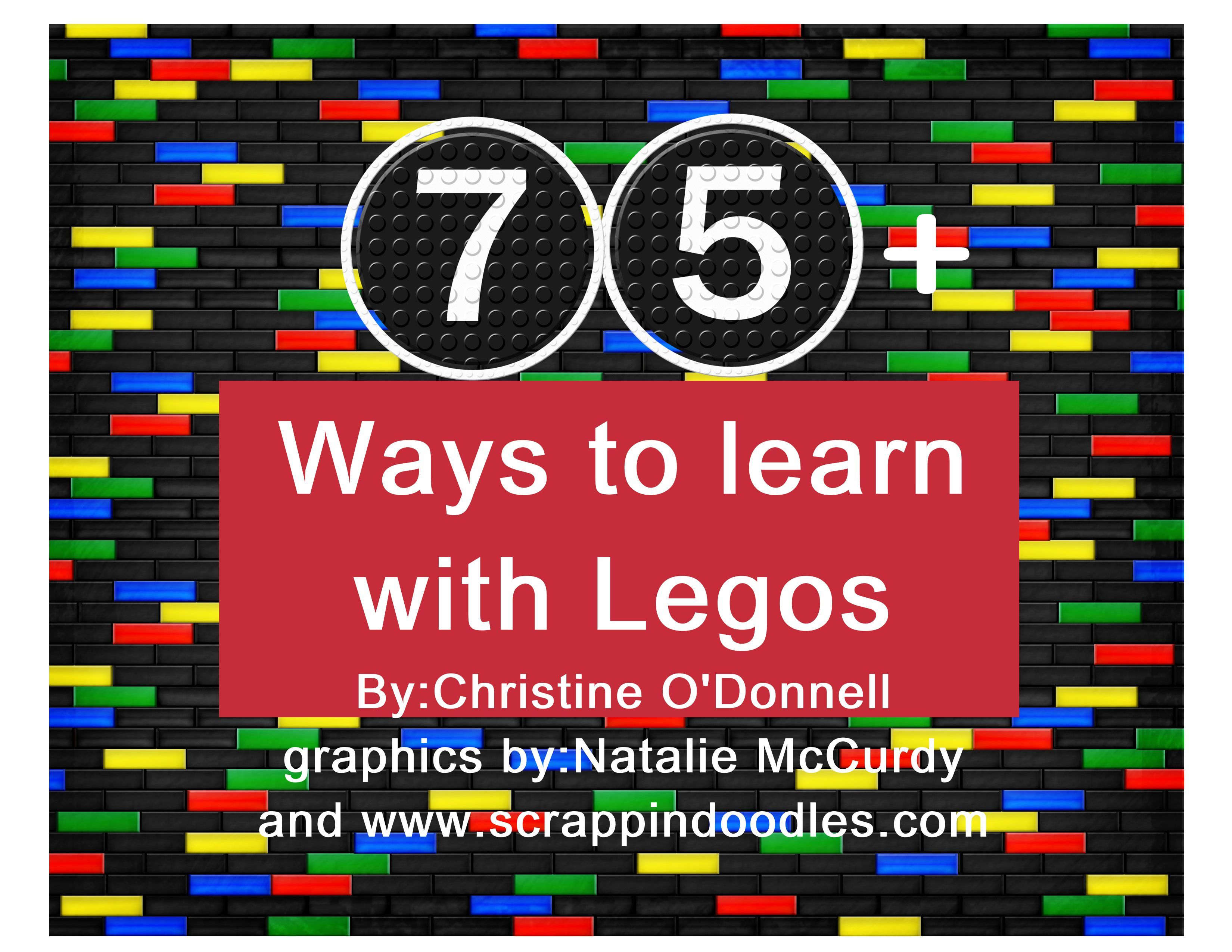 75 Activities To Learn With Legos