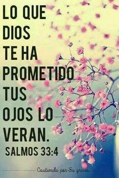 Dios promete y cumple siempre.