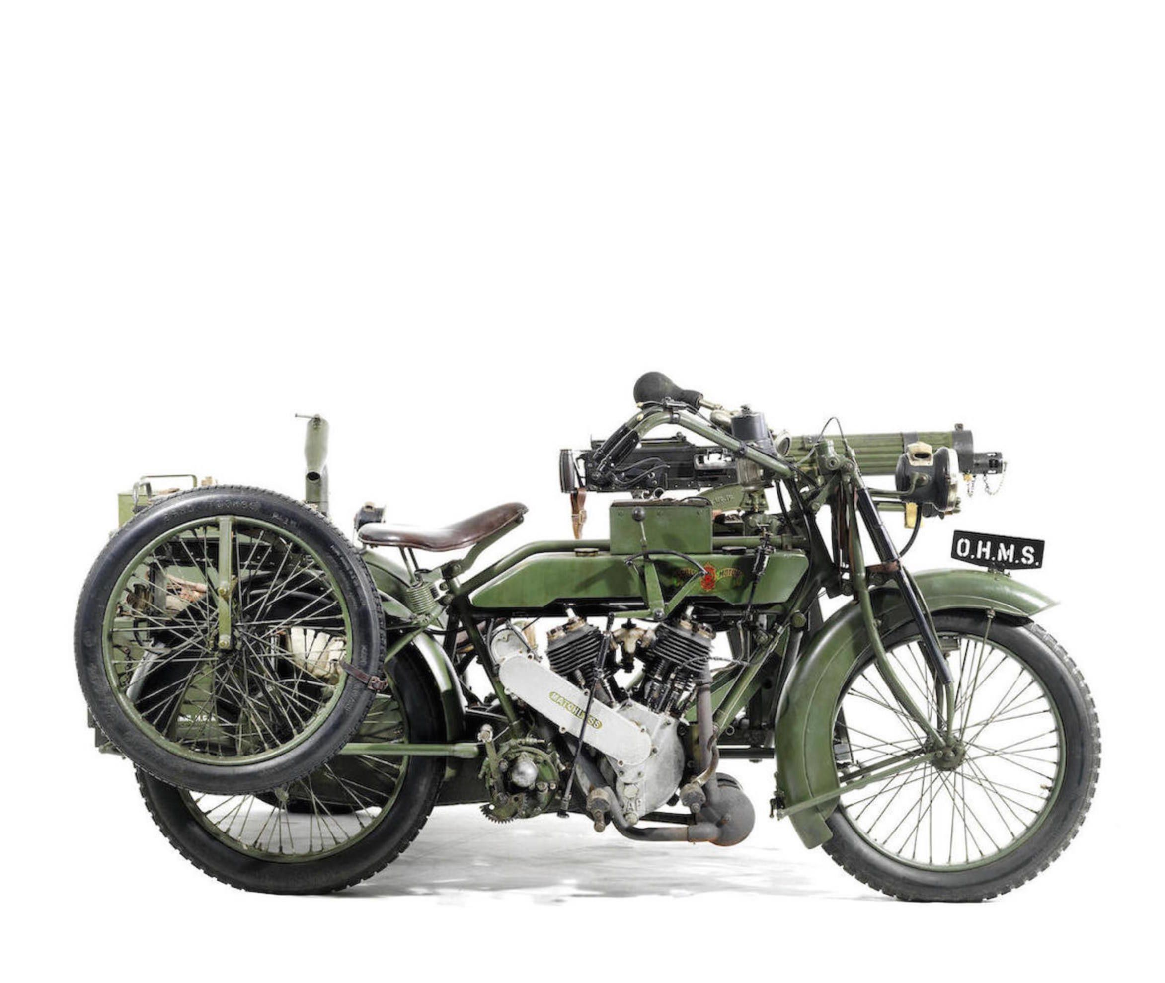 Matchless Vickers Military Motorcycle Military Motorcycle