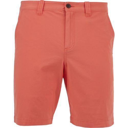 4d6e73fa26b Magellan Outdoors Men s Summerville Poplin Short (Orange Light