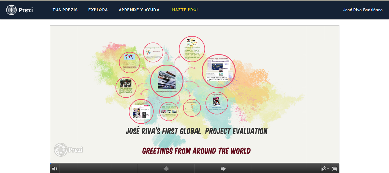 This Is My First Global Project Evaluation For Task  Of The