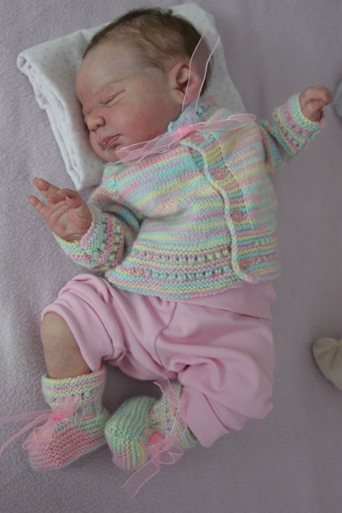 e7428bbf1af20 Newborn reborn baby girl doll KNOX by Laura Lee Eagles IIORA Collii ...