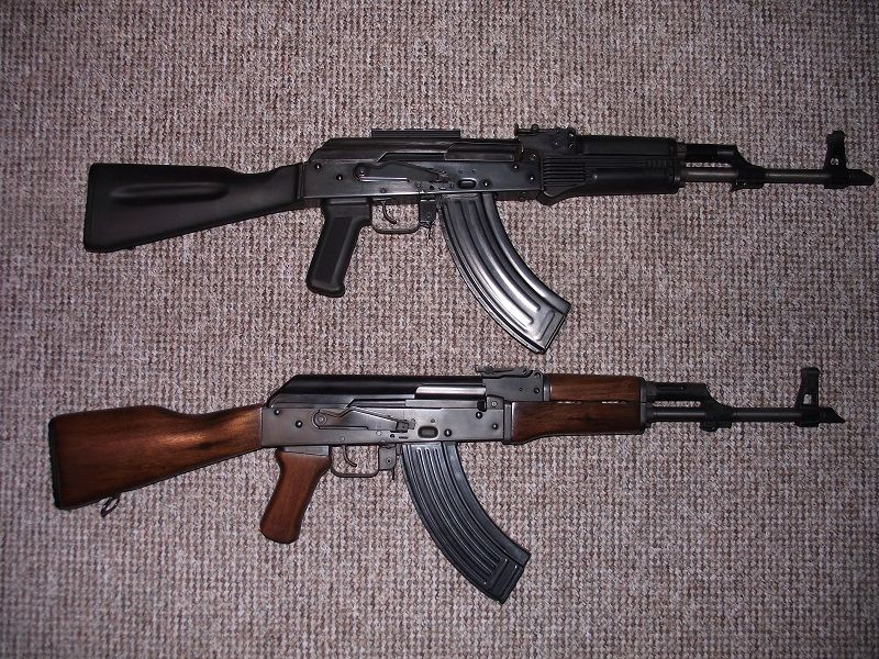 Pair of AKs