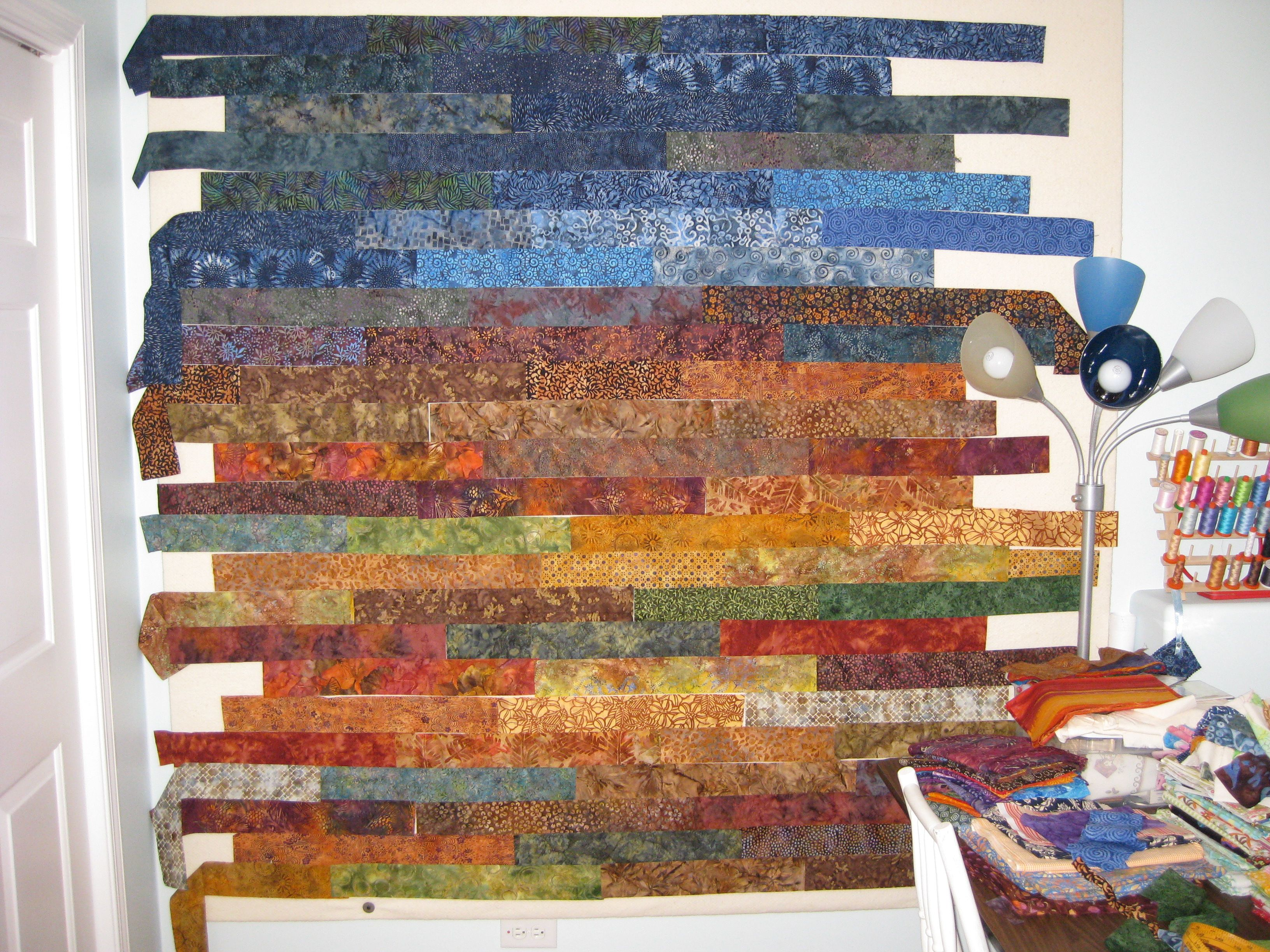 How To Create A Landscape Quilts | free motion quilting | | Quilt ... : horse quilting fabric - Adamdwight.com