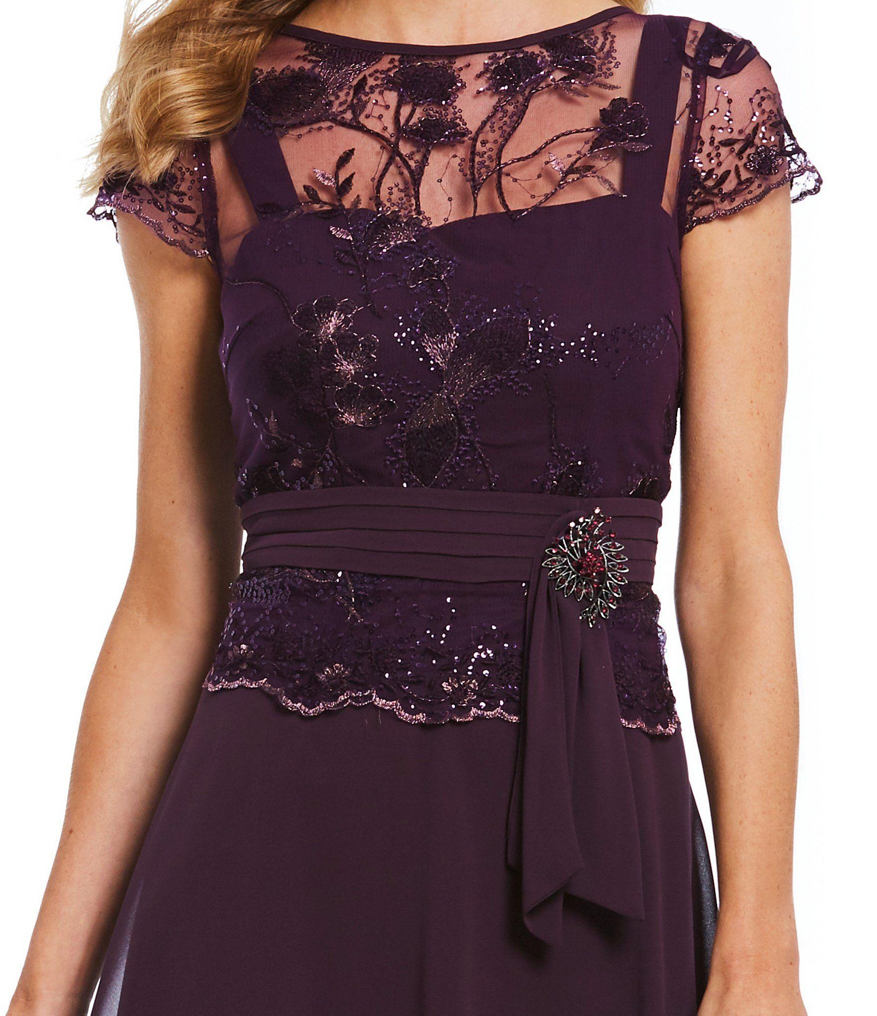 Emma Street Illusion Lace Mock 2 Piece Midi Dress Dillards Dresses Midi Dress Illusion Dress [ 2040 x 1760 Pixel ]