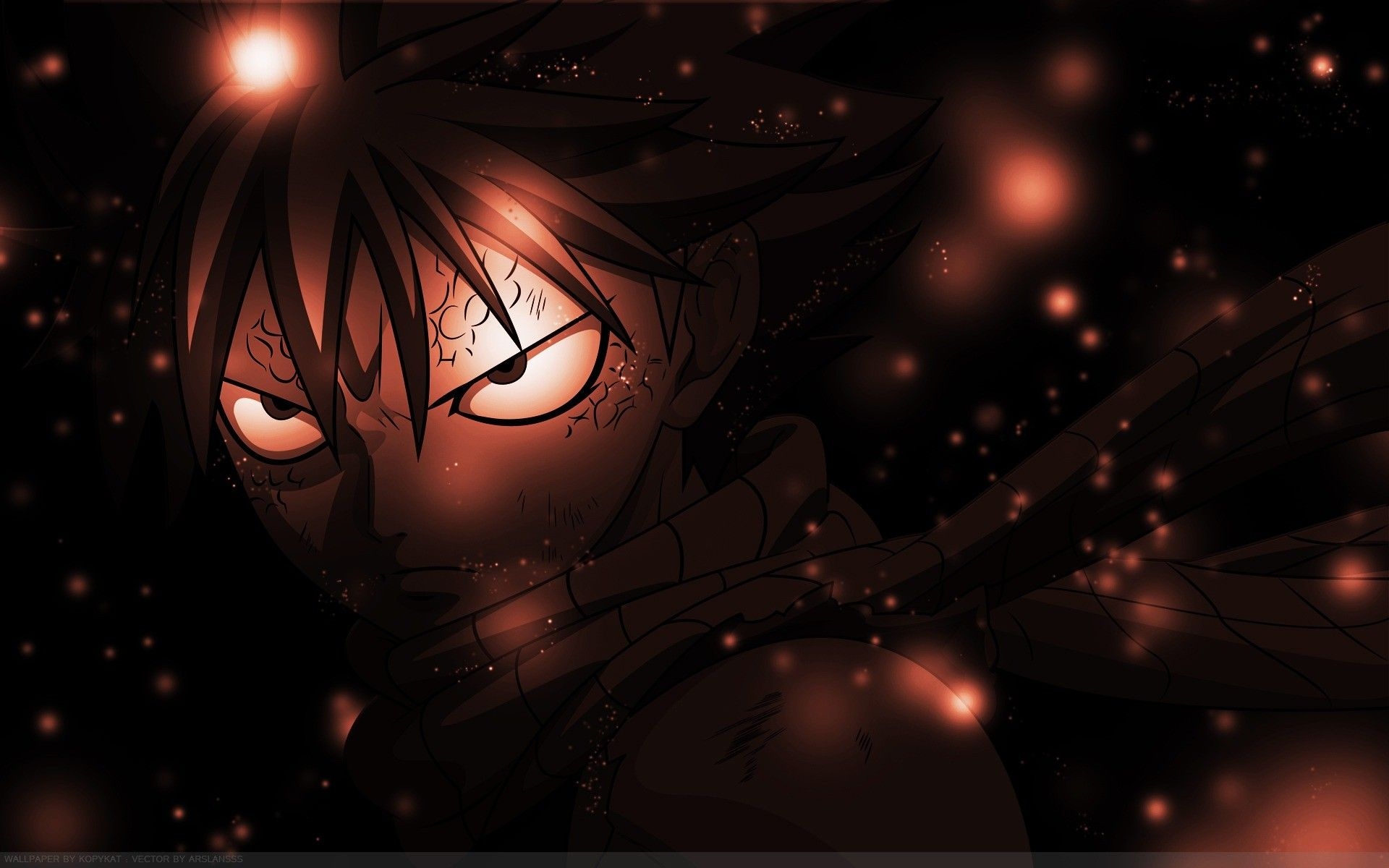 Fairy Tail Dragneel Natsu Angry Wallpaper