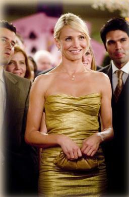 Cameron S Gold Metallic Bandage Dress In What Happens In Vegas