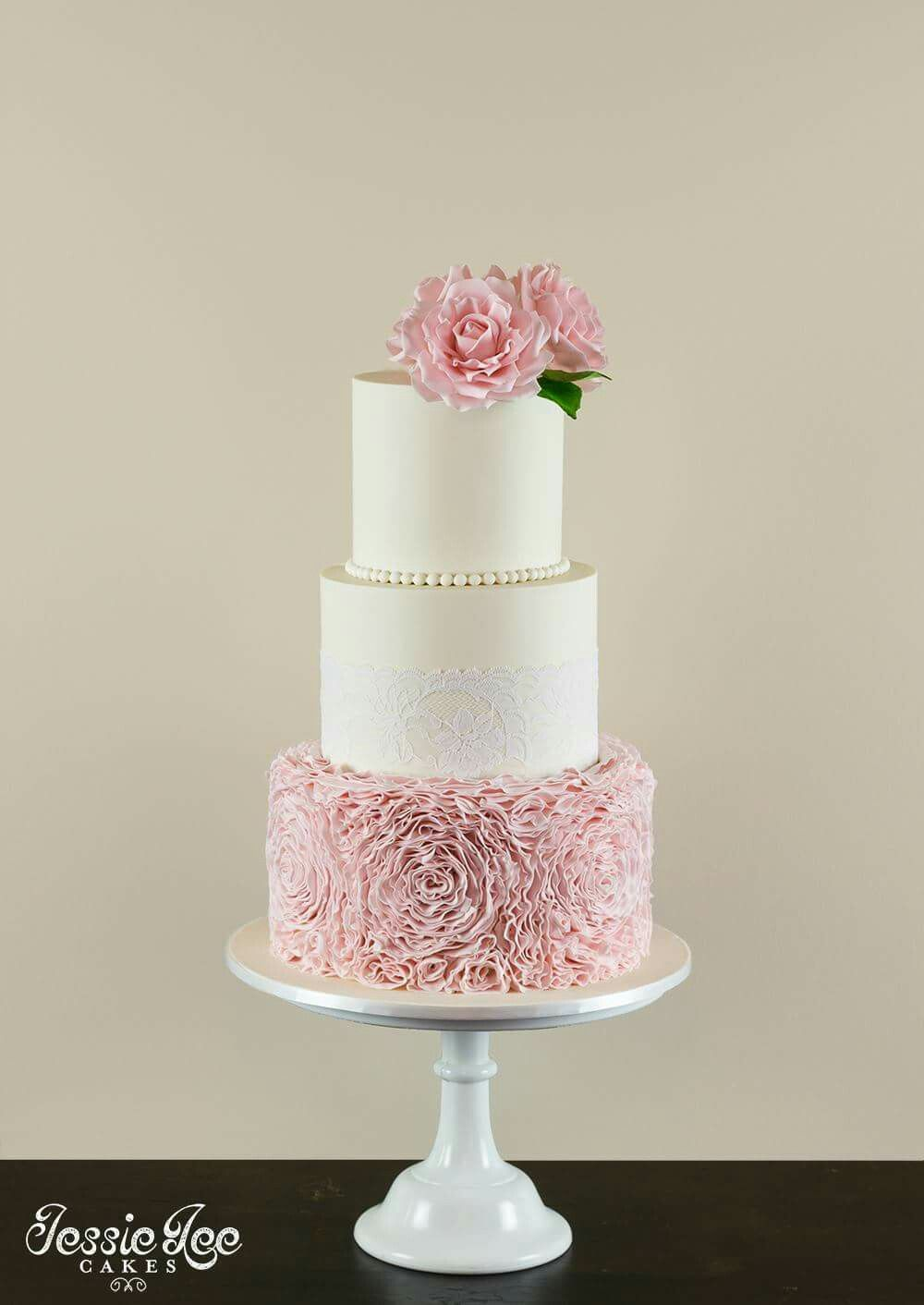 white and pink rose wedding cake my beautiful wedding cake 3 tiers with soft pink 27216