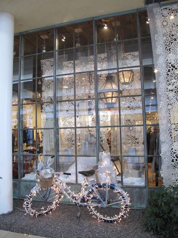 Winter Wonderland Weihnachtsfenster Schaufenster Und B Ros
