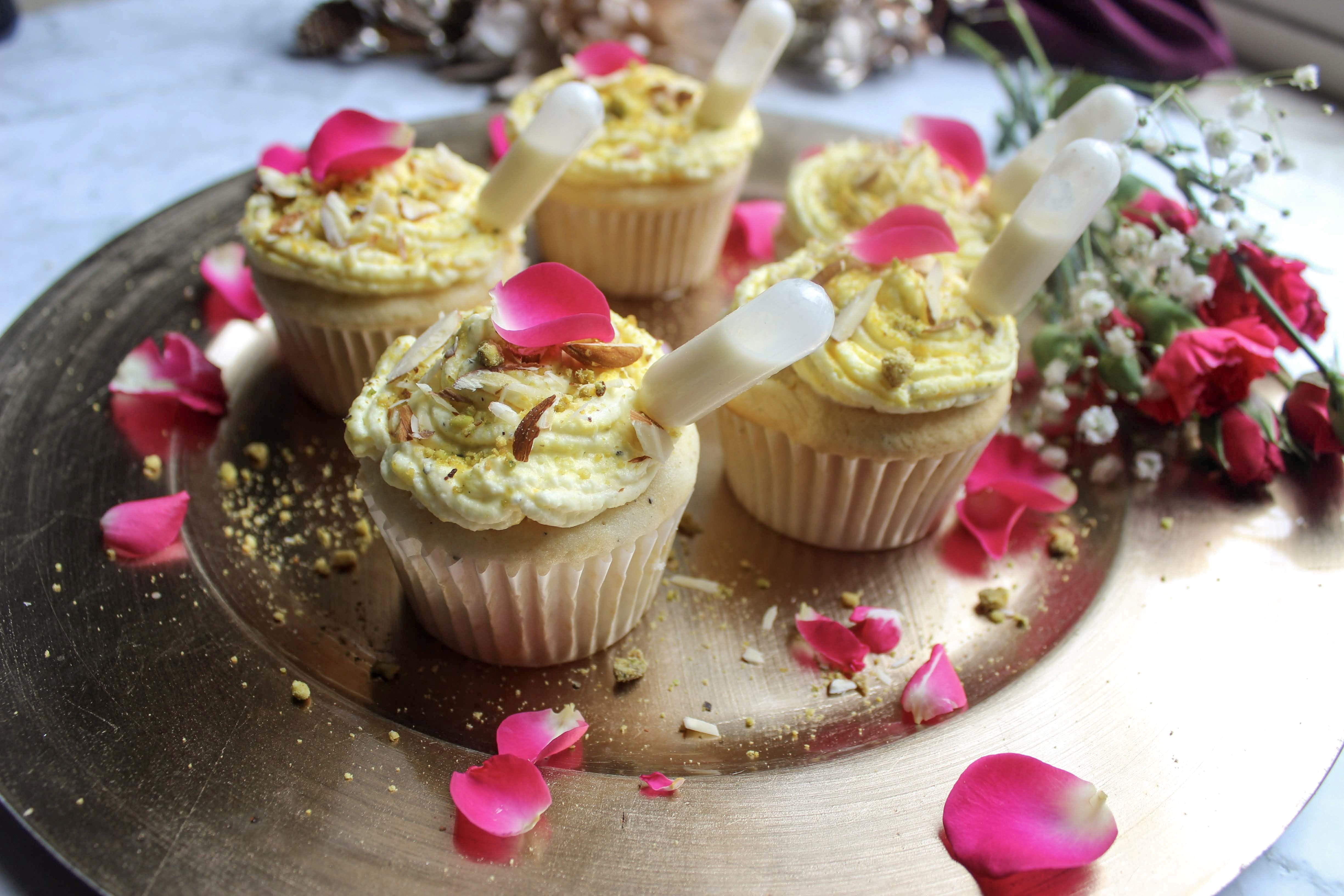 Ras Malai Cupcakes Desserts Favorite Desserts Malai