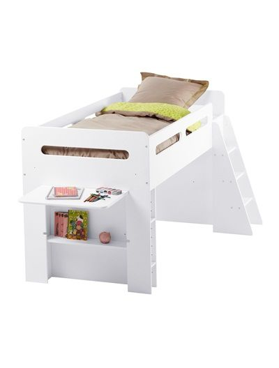 lit sur lev enfant pour combin volutif macabane blanc. Black Bedroom Furniture Sets. Home Design Ideas