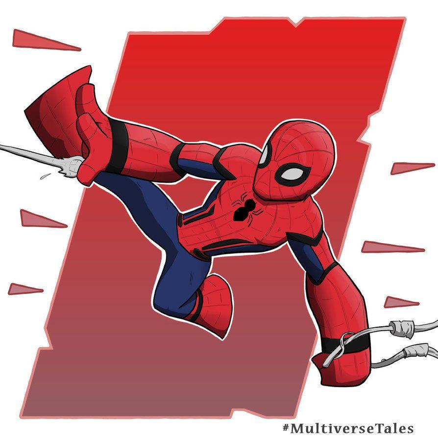 Spider-man MCU Chibi by MultiverseTales on DeviantArt