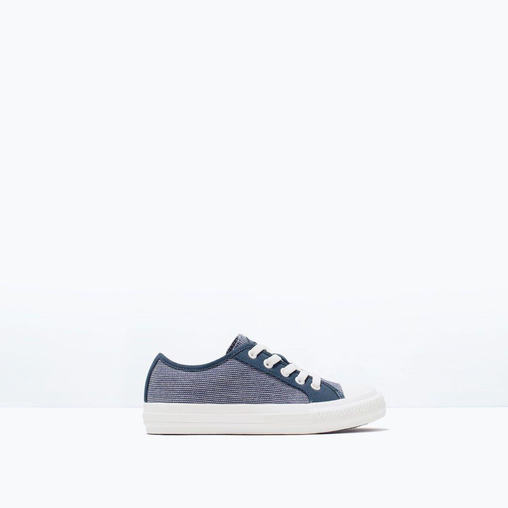 Tekstylne Tenisowki Buty Chlopiec 3 14 Lat Dzieci Zara Golden Goose Sneaker Sneakers