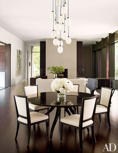 19 Statementmaking Chandeliers  Room Architectural Digest And Unique Light Dining Room Sets Inspiration