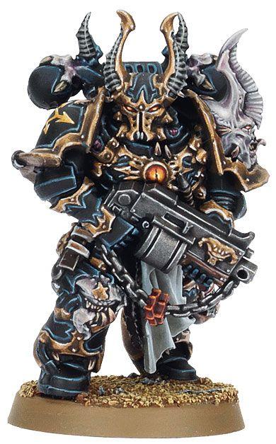 Black Legion Space Marine. Warhammer 40k Miniatures. #miniatures #warhammer40k #40k | Miniatures ...