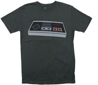 NES Controller - Nintendo T-shirt