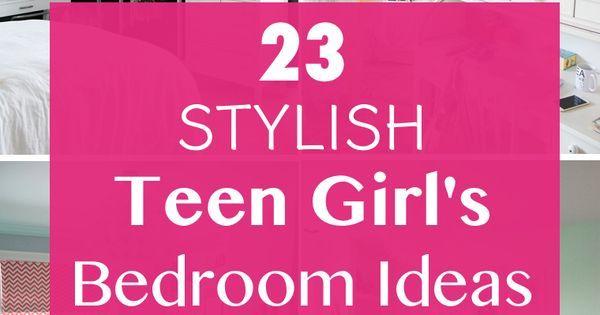 23 Stylish Teen Girlu0027s Bedroom Ideas | Papasan Chair, Style And Girls