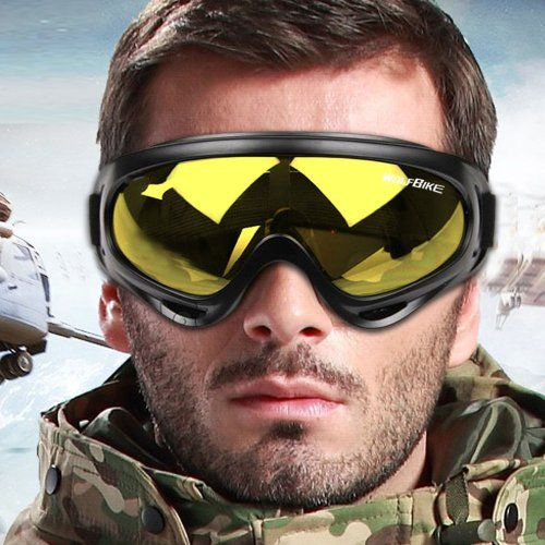 WOLFBIKE Mens Bike Bicycle Motorcycle Goggle Ski Snowmobile Eyewear Snow Sports Cycling Protective Safety Glasses Multi-color Available - Yellow Wolfbike http://smile.amazon.com/dp/B00H1MEDHQ/ref=cm_sw_r_pi_dp_j5lzvb1HKZ35R