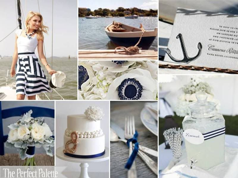 I like this too. The Perfect Palette: {Sail Away With Me}: A Palette of Navy Blue + White