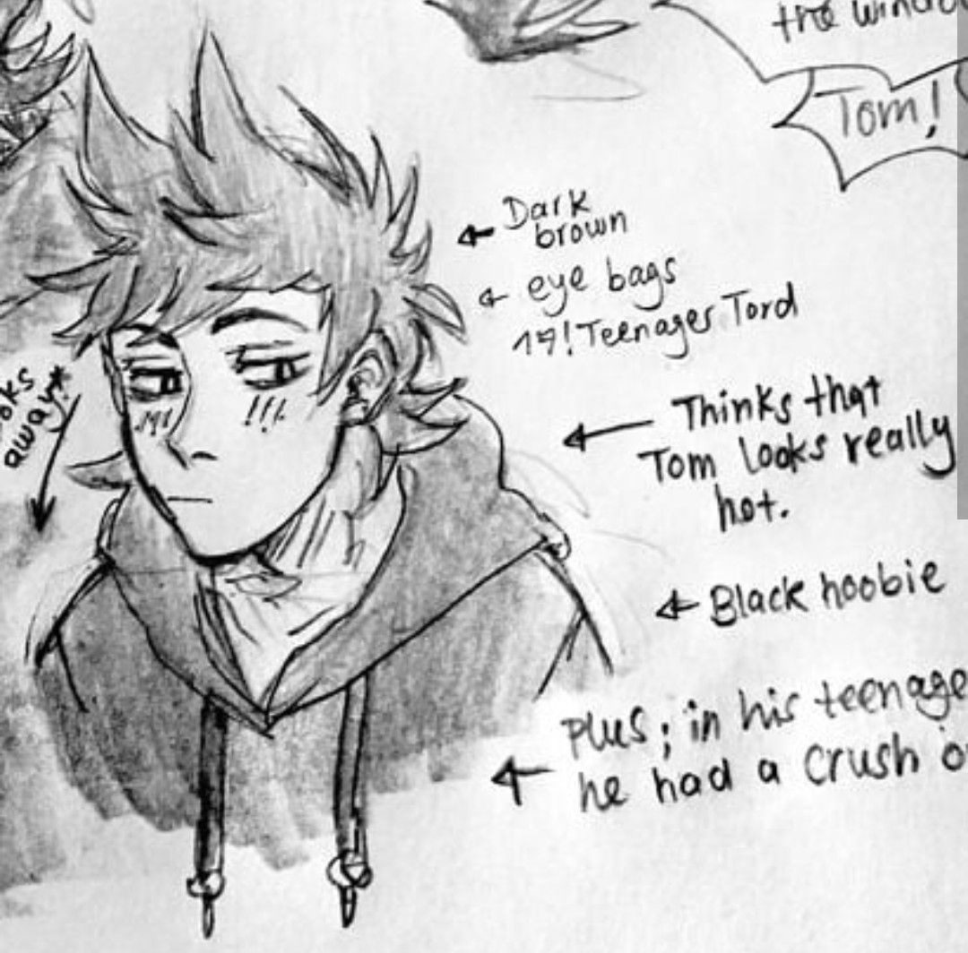 a crUSH ON WHO?   Eddsworld :DD   Drawings, Art, Tomtord comic