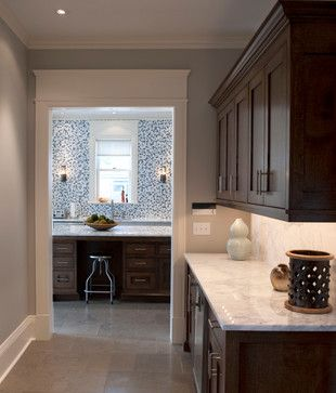 brown cabinets espresso cabinets crown moulding marble rh pinterest com Gray Kitchen Cabinets Brown Walls Rustic Look Brown with Gray Kitchen Cabinets