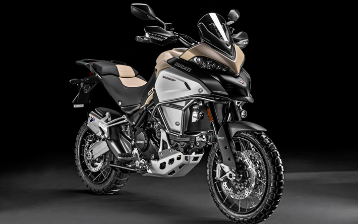 Descargar fondos de pantalla Ducati Multistrada 1200 Enduro Pro, 4k ...
