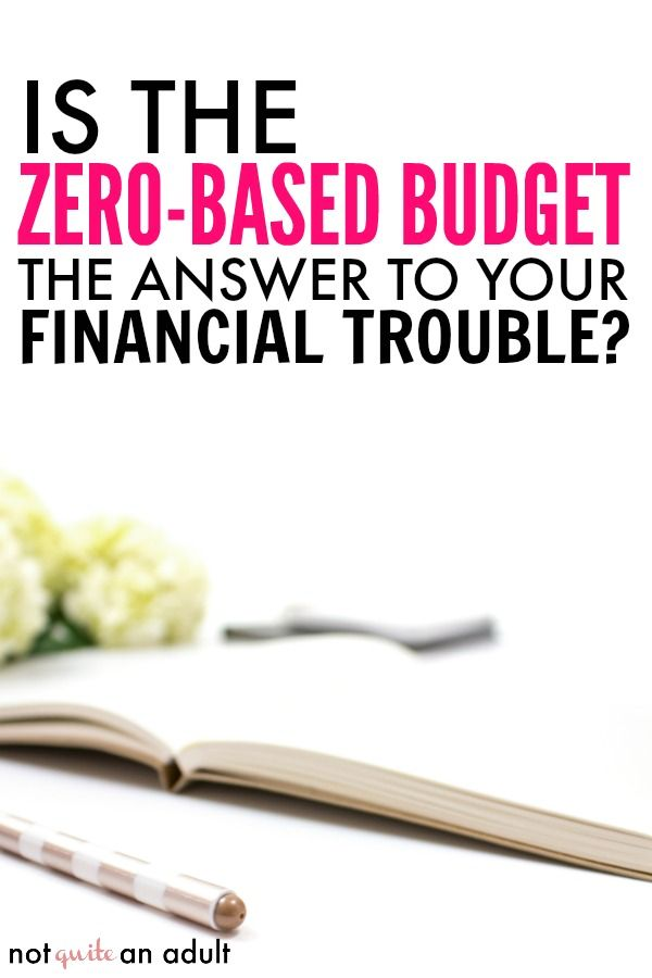 How to Use a Zero-Based Budget Money budget, Personal finance and