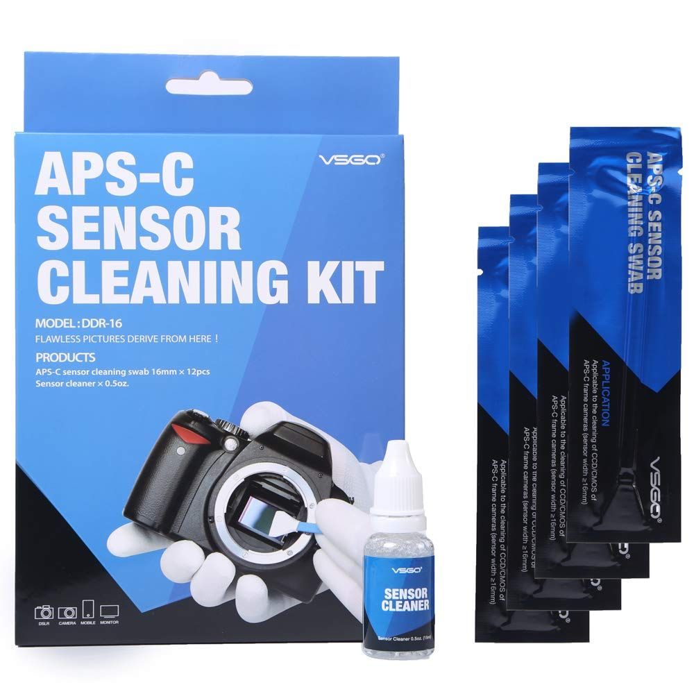 Aps C Frame Ccd Cmos Digital Camera Sensor Cleaning Swab Type 2 Cleaning Kit Box Of 12 X 16mm Swab 15ml Sensor Cl Dslr Camera Cleaning Kit Camera Cleaning