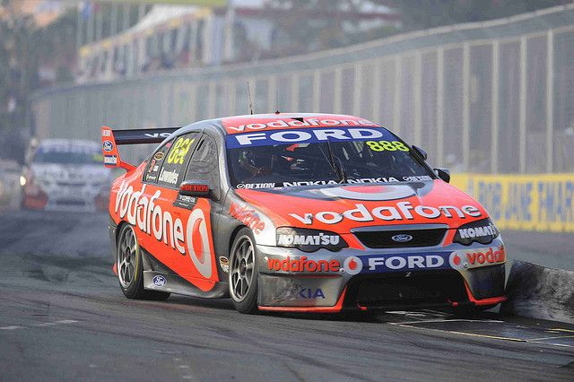 Craig Lowndes of Triple Eight Racing during the Coffee ...