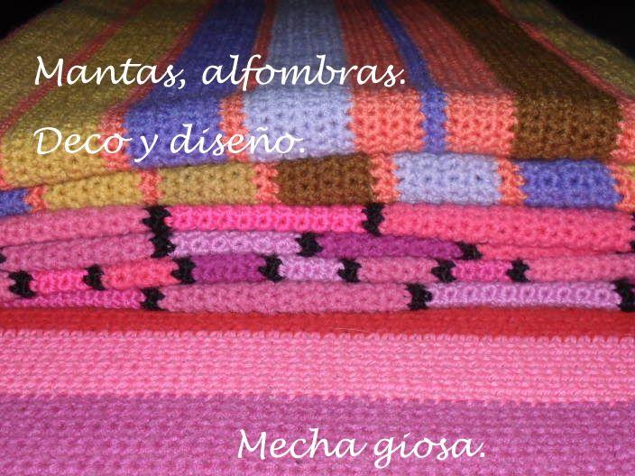 Mantas, alfombras, almohadones, pies de cama , Tejidos para el hogar, By Mecha Giosa.