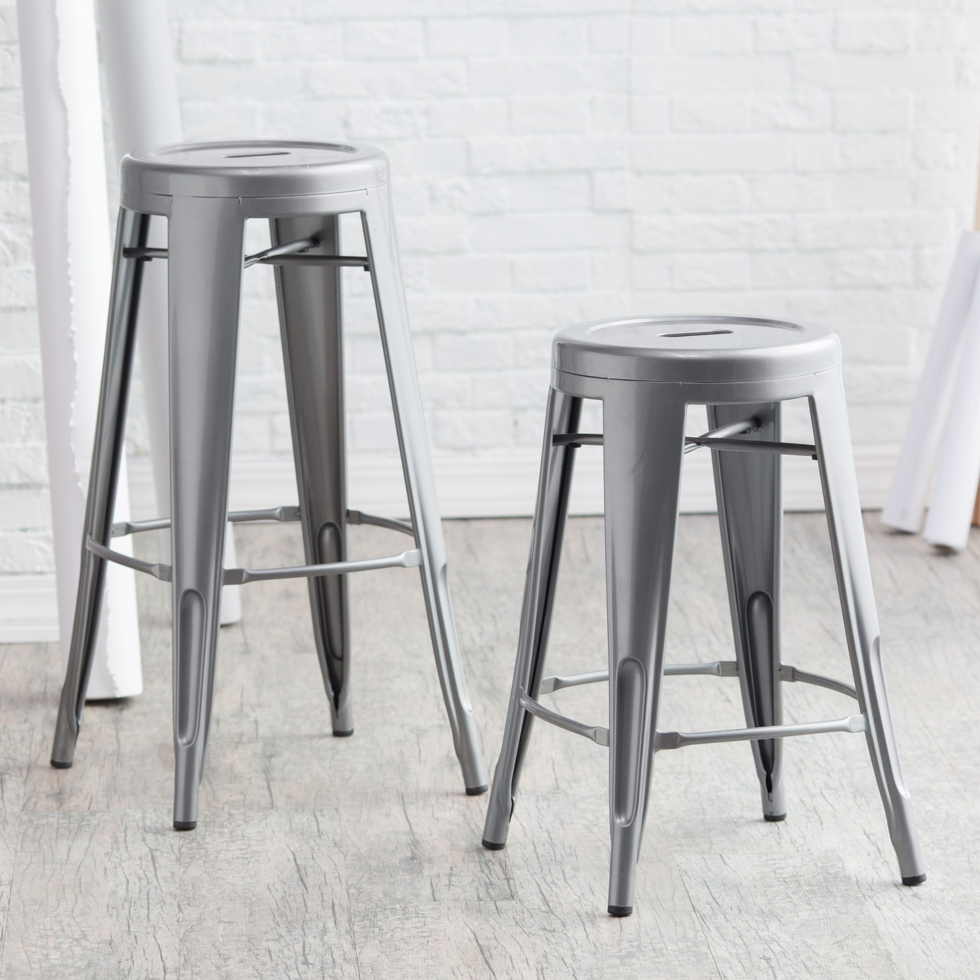 bar natural stool metal cqbooths d seat product commercial modern wood