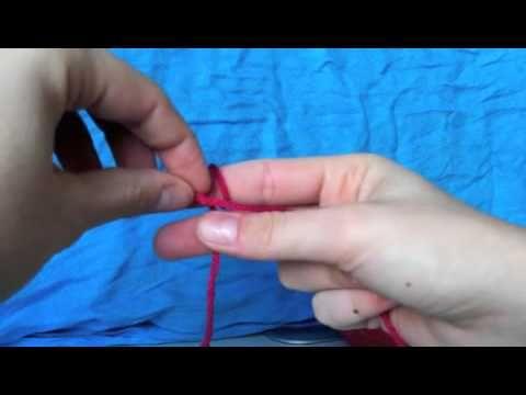 Linkshandig Haken 1 Opzetlus Haken Pinterest Crochet