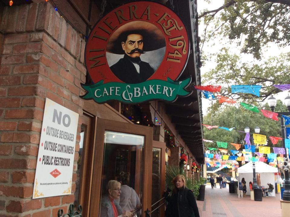 San Antonio's famous Mi Tierra Restaurant and Bakery